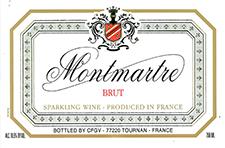 Label Front - Montmartre Brut